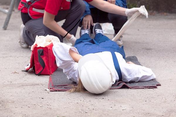 Pozoracja na kursie pierwszej pomocy